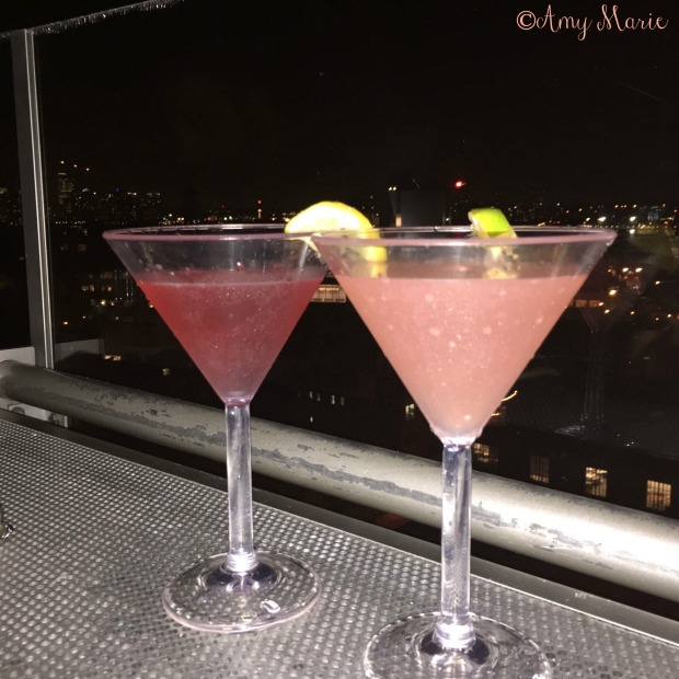 manhattan melon martini